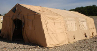 NEW TEMPER TENT MILITARY SURPLUS